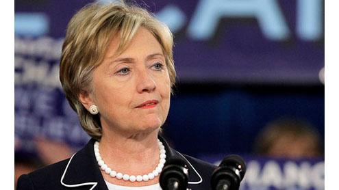Hillary Clinton breaks travel record