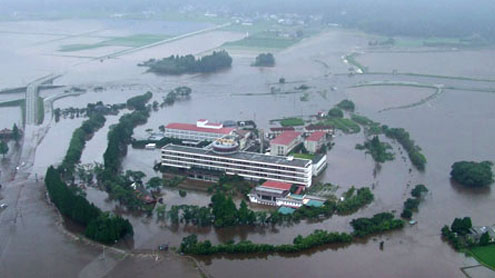 Japan floods kill 26 and leave thousands cut off