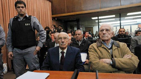 Argentina's Videla and Bignone guilty of baby theft