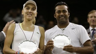 Leander Paes-Vesnina end runners-up at Wimbledon