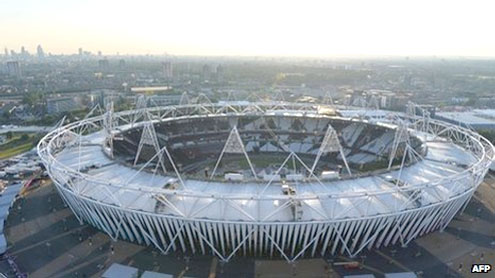 London Olympics final countdown begins
