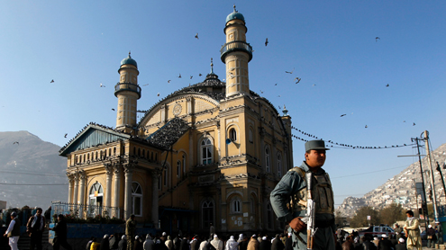 Mosques enveloped in security blanket