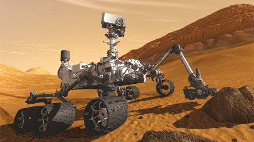 NASA's Mars rover two weeks from landing