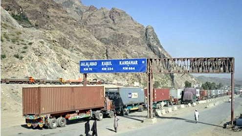 Nato Supply Trucks in Pakistan
