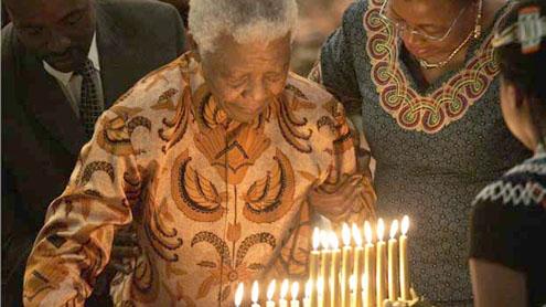 Public service marks Mandela's birthday