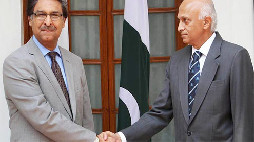 Pak-India talks on positive trajectory