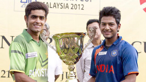Pakistan and India joint winners of U-19 Asia Cup