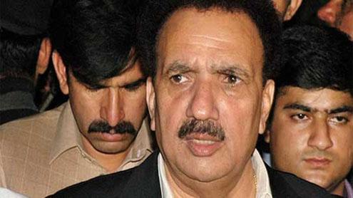 Malik reviews law & order in Karachi with Sindh CM