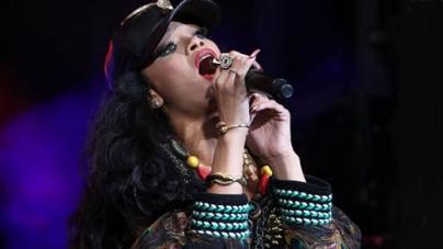 Rihanna Enjoys 'Wild Night' With Rapper