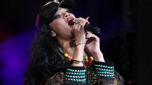 Rihanna Enjoys 'Wild Night' With Rapper