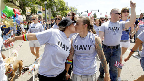 US army members to march in gay pride parade, first time in history