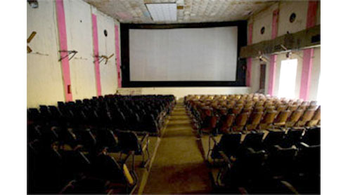 70-year-old cinema house in Taxali demolished