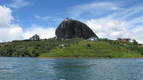 The Rock Of Guatape-Colombia
