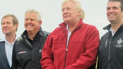 Trump opens controversial $150M golf course in Scotland