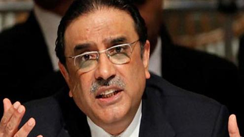 President Zardari greets nation on I-Day