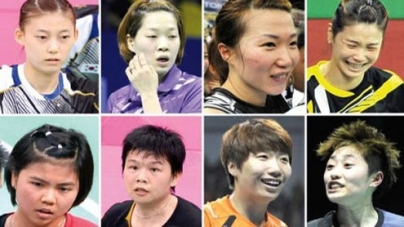 Eight disqualified over badminton fixing scam