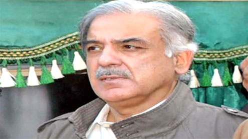 Shahbaz warns officials on accumulation of rainwater in city