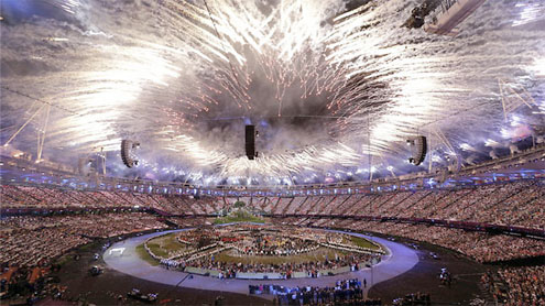 Curtain falls on 'glorious' London Games
