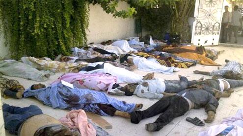 Daraya massacre an 'atrocity on a new scale'