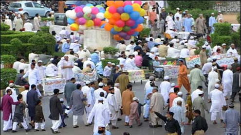 Eid celebrated with religious fervour