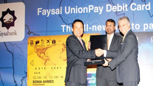Faysal Bank launches UnionPay debit card