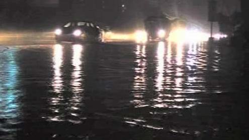 Flood in Nullah Dek
