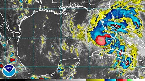 Hurricane warnings issued for New Orleans, Gulf Coast as Isaac churns off Florida
