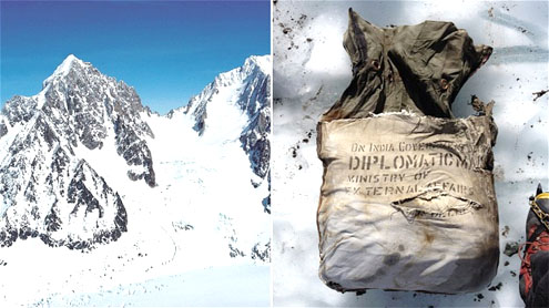India diplomatic bag found in French Alps after 46 years