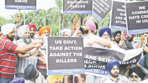 Indian Sikhs shocked and angered by US temple shooting