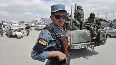 Insurgents killed in predawn gun battle in Kabul