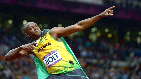 King Bolt retains 100m title in style