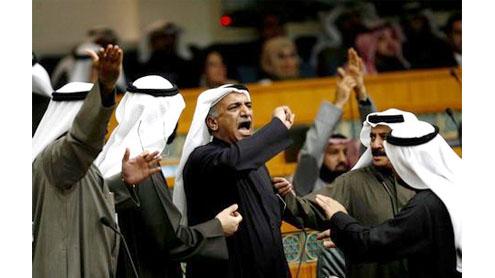 Kuwaitis slam move to change poll law