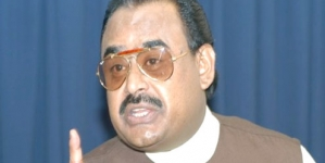 MQM wants to create environment of harmony: Altaf