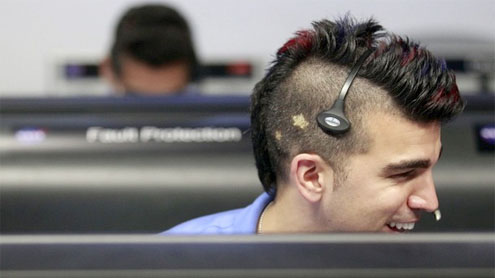 'Nasa mohawk guy' outshines Curiosity