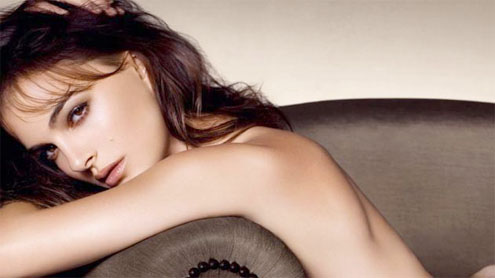 Natalie Portman goes nude for Dior ad