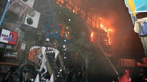Nightclub fire in Thailand's Phuket kills four