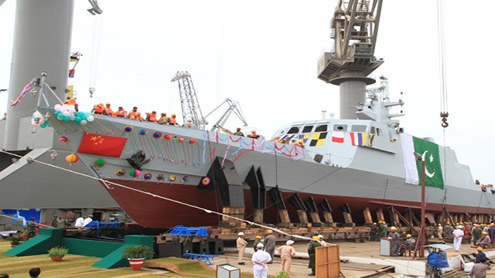 Pakistan Navy launches second fast attack craft
