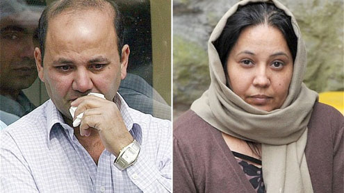 Parents of Shafilea Ahmed sentenced to 25-years after being found guilty of her 'honour' killing