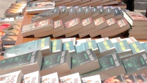 Pirated textbooks, stickers seized in Lahore
