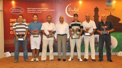 Ramadan Golf Trophy for Munzir Bokhari at Royal Palm