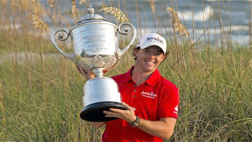 Rory McIlroy steps up the challenge to win second major at the USPGA Championship