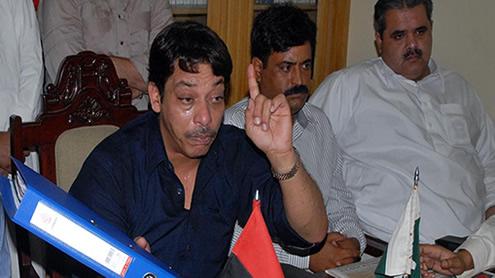 Senator Faisal Raza Abidi