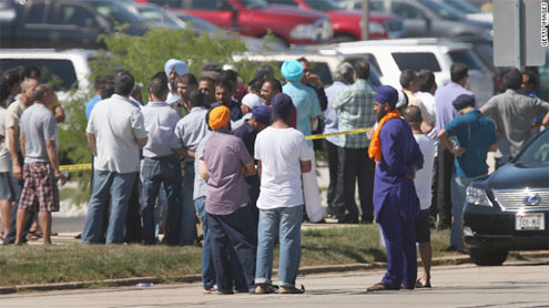 Shooting at Sikh temple: 7 dead, including suspected gunman, police say