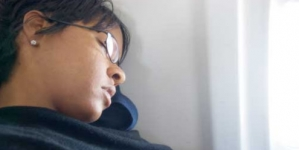 Sleepy woman flies Pakistan to France… and back again