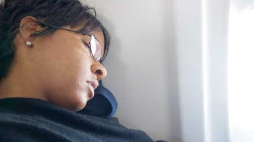 Sleepy woman flies Pakistan to France… and back again