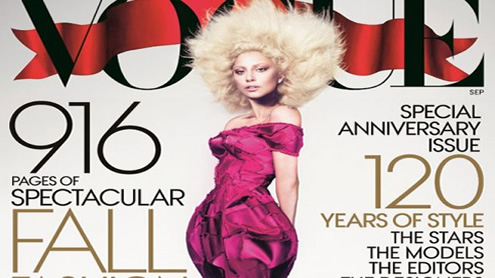 Vogue's new record with 916-page