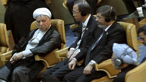 Walkout at NAM summit as Mursi slams 'oppressive' Assad regime