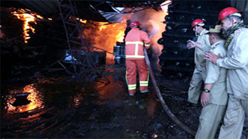 Warehouse gutted in Quetta