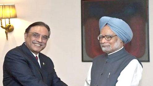"Zardari for ""determined efforts"" to make Pak-India dialogue process productive, result-oriented"
