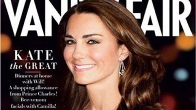 The Duchess of Cambridge makes Vanity Fair's Best-Dressed List 2012